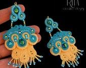 earrings soutache KARNAVAL II