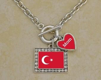 Custom Family Turkey Necklace - FLAGTR54590