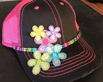 Decorated Baseball Cap