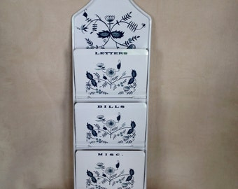 Vintage French Country Letter Holder