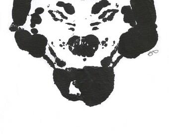 Rorschach Experiment Coyote Artwork