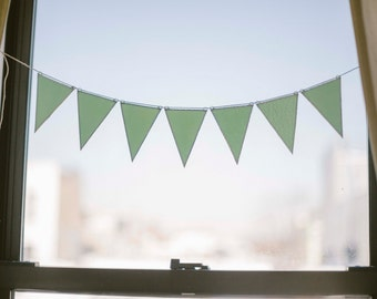 SEGO Stained Glass Bunting - Mint Green