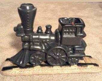 Train Locomotive Engine Ashtray