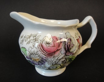 Items Similar To Plantation Colonial China Carl Forslund Small Pitcher Creamer On Etsy