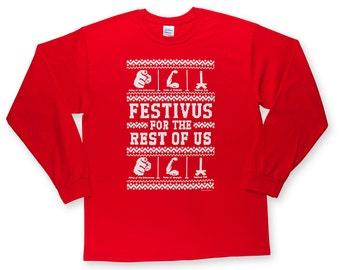 Ugly Festivus Sweater T Shirt