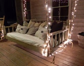 """The """"Madison"""" Porch Swing   Crib Size Hanging Bed Swing"""