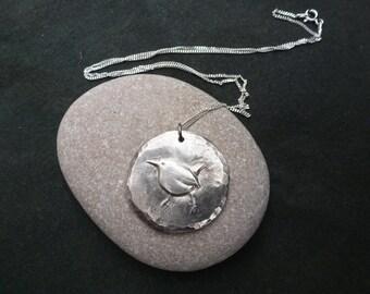 Wren Bird necklace.