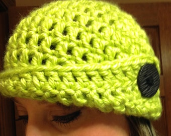 Chunky Cloche Hats