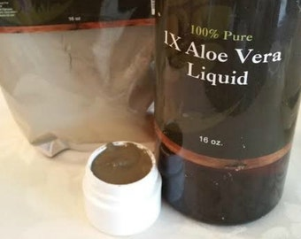 Dead Sea Clay & Aloe Face Mask - .5 oz Travel Jar