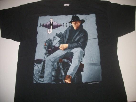 John michael montgomery tour t shirt 1994 2 sided men 39 s for Custom t shirts montgomery al