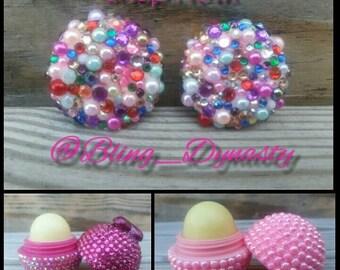 Multi-Colored Bling Earrings