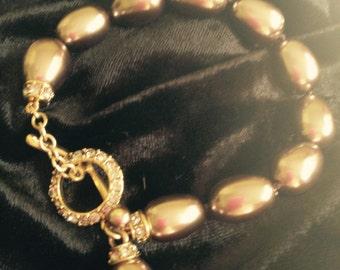 Jeweled Monet Bracelet