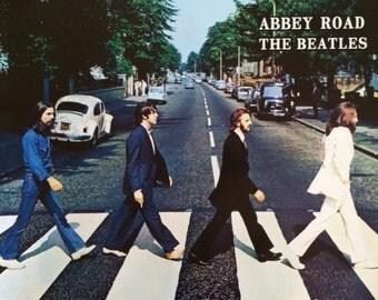 The Beatles Abbey Road John Lennon Paul McCartney George Harrison Ringo Star poster Beatles Posters  16 x 20