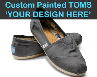Toms Design painted toms etsy