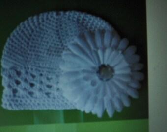 Baby beanie hat size  0/12  months