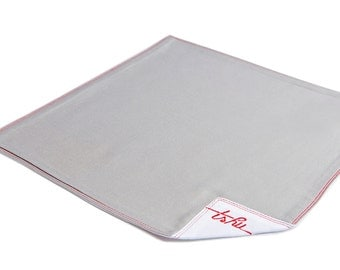 Grey handkerchief two plies 100% cotton - TSHU Samuel