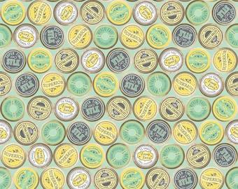 "Riley Blake Designs ""Sew Charming"" by Bo Bunny. 100% cotton - C4544 Mint - Spools."