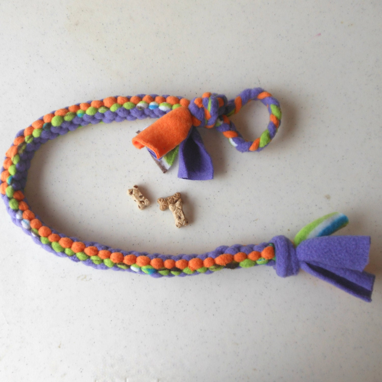 Make Dog Tug Toy: Dog Toy Extra Long Tug Toy Sturdy Fleece Pull By