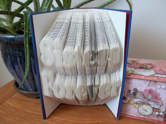 Two line alphabet folding book art pattern. Checkout by ...