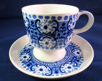 Arabia of Finland, Ali Coffee cup and saucer