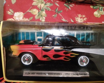 Motor Max Hot rodding adventures 57 Chevy Bel Air