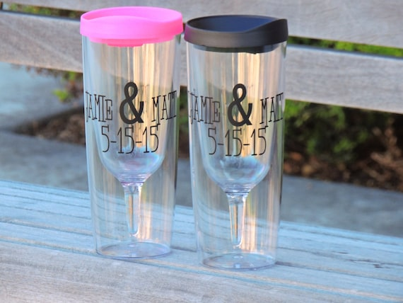 Set Of 2 Vino 2 Go Cups Wine To Go Tumbler By