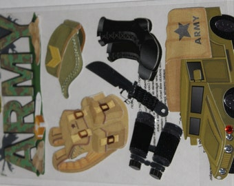 Jolee's Boutique Army Lot