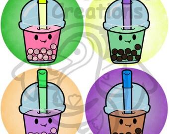 Bubble Tea Button