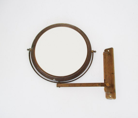 Man Cave Englewood Fl : Antique shaving mirror wall mounted adjustable