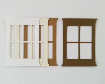 Small Madison Window and/or Flower Box Die Cut