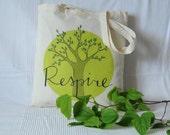 """Tote bag """"Respire"""""""