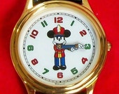 Disney Rare Nutcracker Mickey Mouse Watch! HTF! New! Out of Production!
