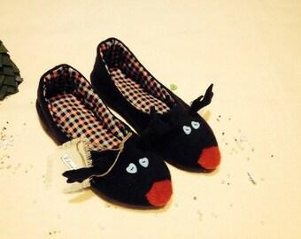 Slippers deer