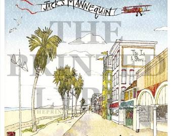 "NEW** Jack's Mannequin ""Everything In Transit"" Lyrics Print"