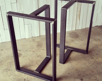 Counter Height Metal Table Legs : Counter height table Etsy