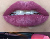 MAUVELOUS matte lipstick by Insomnia Cosmetics vegan and cruelty-free