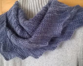 Tunisian Crochet Pattern - Scarf/Shawlette