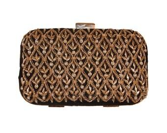 Ruhmet Floral Jaal Clutch Bag