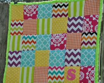 CUSTOM Patchwork Take-a-Long Quilt