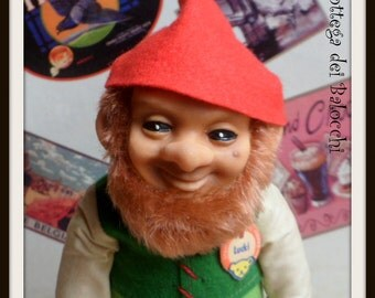 "Steiff ""Lucki"" vintage gnome/elf/dwarf/."