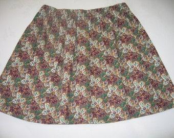 Girls skirt, age 4-5 years