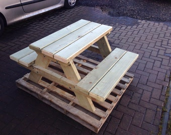 Personalised Picnic bench