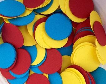 Circus Confetti Circles