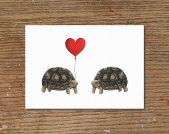Tortoise Love | Art Print