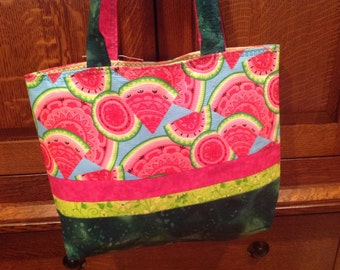 Watermelon beach bag | Etsy