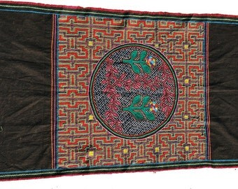 Shipibo Textile From the Amazon, 29.5 Inches by 49 inches