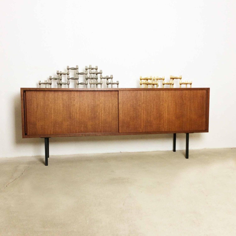 vintage 70s bmf nagel kerzenst nder chrome candle holder 14x. Black Bedroom Furniture Sets. Home Design Ideas