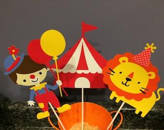 3 Piece Boy Circus Centerpiece