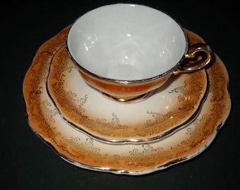 KHM Bavaria Tea Cup, Saucer and Plate
