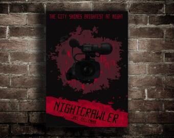 Nightcrawler - Jake Gyllenhal - Movie Print - Poster - (Available In Many Sizes)